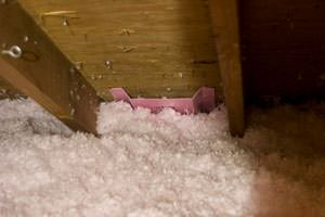 New Insulation installed in Clive attic