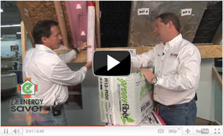 insulating an attic in Johnston video